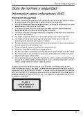Sony VGN-Z41MD - VGN-Z41MD Documenti garanzia Spagnolo - Page 5
