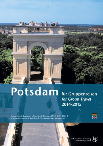 Potsdam for Group Travel 2014