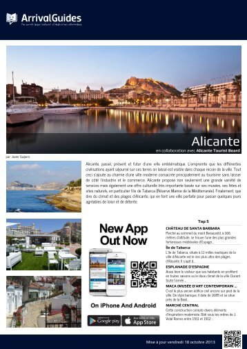 Alicante Arrival Guide