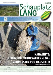 Schauplatz Lang 2013/03
