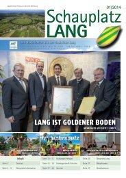 Schauplatz Lang 2014/01