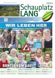 Schauplatz Lang 2014/03