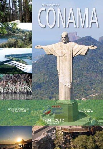 Livro das Resoluções do CONAMA - Ministério do Meio Ambiente