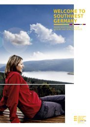 South-West Germany for Leisure and Health Visitors