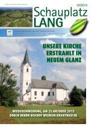 Schauplatz Lang 2015/03