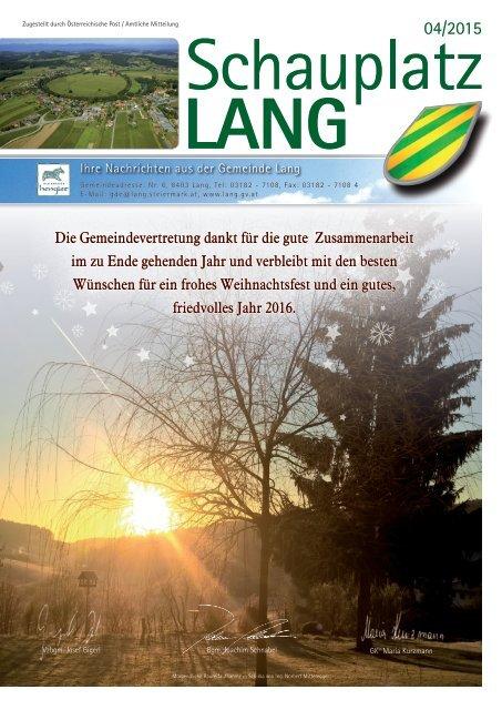 Schauplatz Lang 2015/04