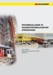 HOCHREGALLAGER IN SAUERSTOFFREDUZIERTER - SSI Schäfer