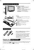 Philips Téléviseur numérique à écran large - Mode d'emploi - SWE - Page 5