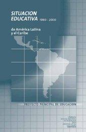 Situación educativa de América Latina y el Caribe, 1980-2000; 2001