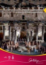 Arts & Festivals in Antalya