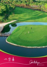 Golf in Antalya+