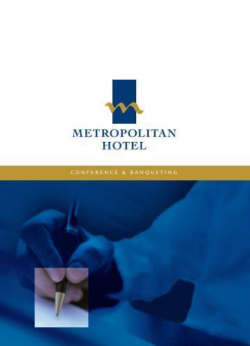 Metropolitan Hotel - Conferences