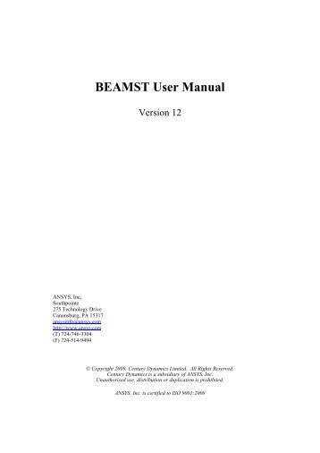 Ansys Manual