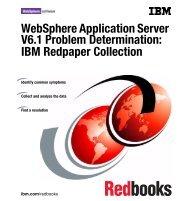WebSphere Application Server V6.1 Problem ... - IBM Redbooks