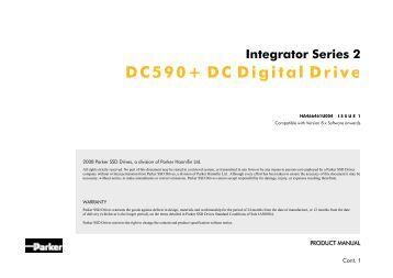 Parker SSD Drives 590+ DC Digital Drive Manual - Inverter Drive ...