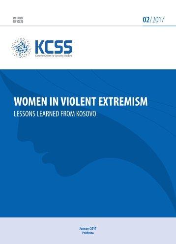 WOMEN IN VIOLENT EXTREMISM