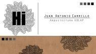 Portafolio Juan Antonio Carrillo