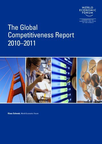The Global Competitiveness Report 2010–2011 - World Economic Forum