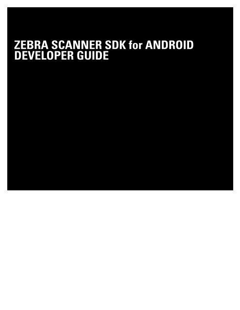Zebra Android Sdk