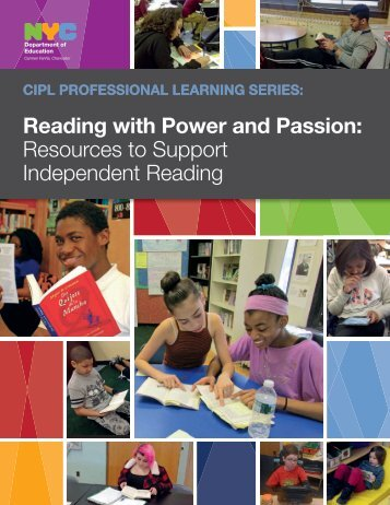 Reading with Power and Passion Resources to Support Independent Reading