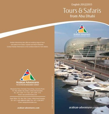 Tours & Safaris from Abu Dhabi