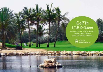 Golf in UAE & Oman