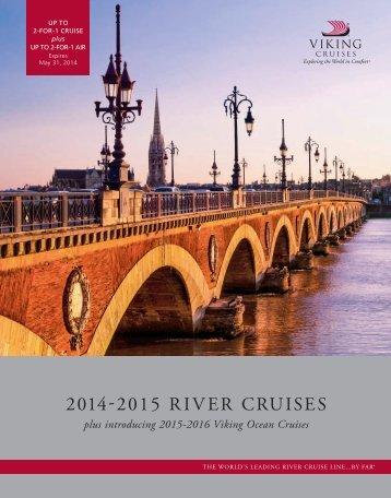 2014 - 2015 River Cruises