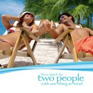 Three Islands for two People
