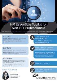 HR Essentials Toolkit for Non-HR Professionals