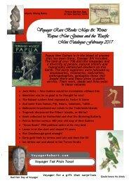Voyager Rare Books Maps & Prints - Papua New Guinea Catalogue