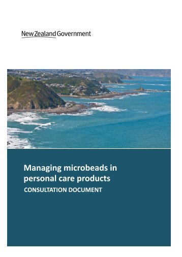 Managing microbeads in personal care products