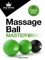 Fitness | Massage Ball | Ebook guide for fitness