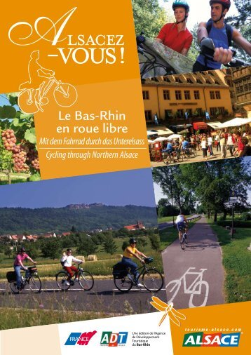 Cycling through Northern Alsace