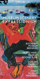 Museum Scenery Expressionism