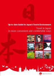 Travel in Japan in more convenient and comfortable ways