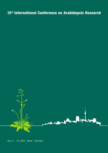 15th International Conference on Arabidopsis Research - TAIR