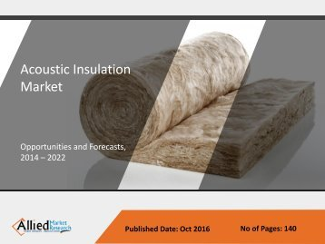 Acoustic Insulation Market Size | Global Industry Report, 2014-2022