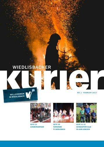 Wiedlisbacher Kurier 1/2017