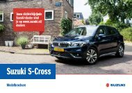 Suzuki S-Cross modelbrochure