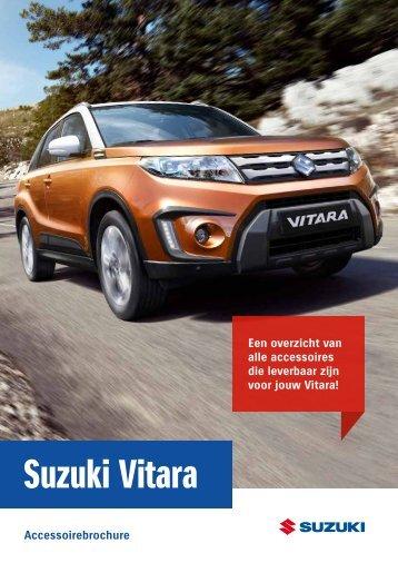 Suzuki Vitara accessoirebrochure