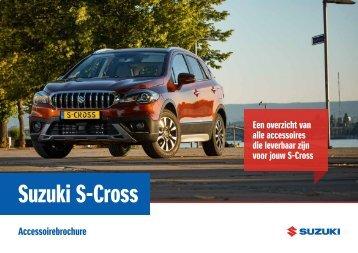Suzuki S-Cross accessoirebrochure