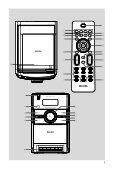 Philips Microchaîne hi-fi - Mode d'emploi - NLD - Page 3