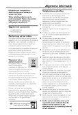 Philips Microchaîne hi-fi - Mode d'emploi - NLD - Page 7