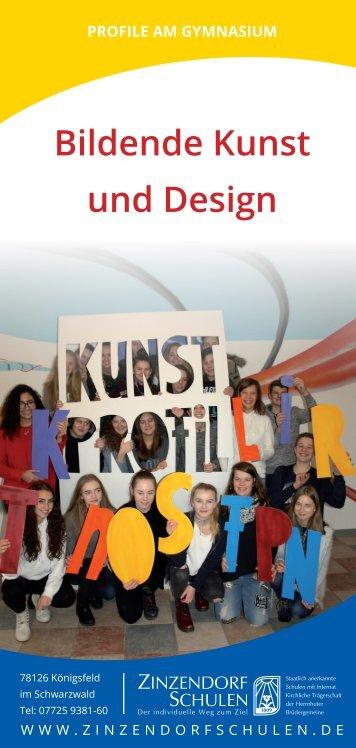 Profil Bildende Kunst und Design