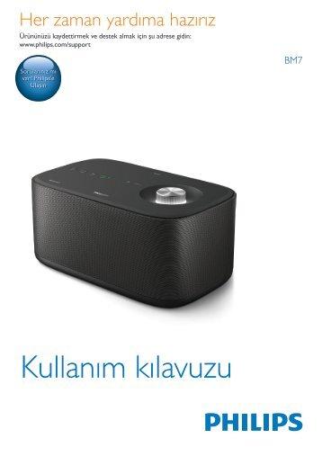 Philips izzy Enceinte Multiroom sans fil - Mode d'emploi - TUR