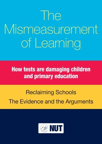 The Mismeasurement of Learning