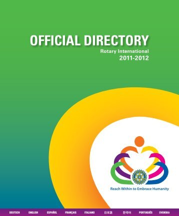 RI Official Directory 2011-2012 - Vision 1112