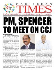 Caribbean Times 86th Issue - Monday 30th January 2017