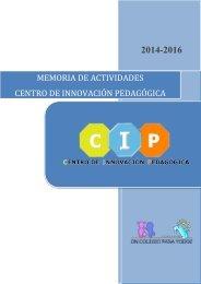 MEMORIA CIP 2014-2016