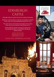 Edinburg Castle Corporate Brochure